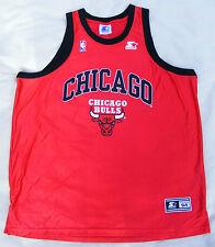 CHICAGO BULLS Starter Shirt Größe XXL 54 vintage 90er NBA original size Trikot