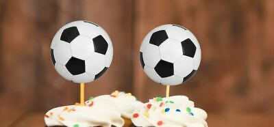 Marvelous 20X Football Cake Toppers Football Cupcake Toppers Sports Birthday Funny Birthday Cards Online Bapapcheapnameinfo