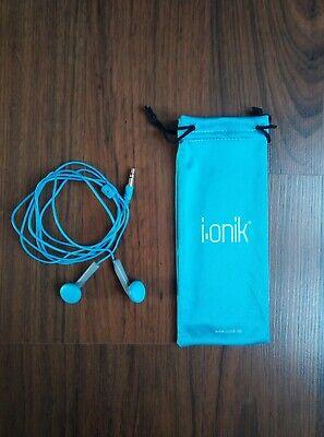 2-teiliges Set Fürs Handy: Kopfhörer + Beutel Von Ionik