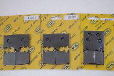 fits ZX750 Ninja ZX-7 ZX-7R 1989-95' Front Rear Brake Pads KAWASAKI ZX 750 ZX7
