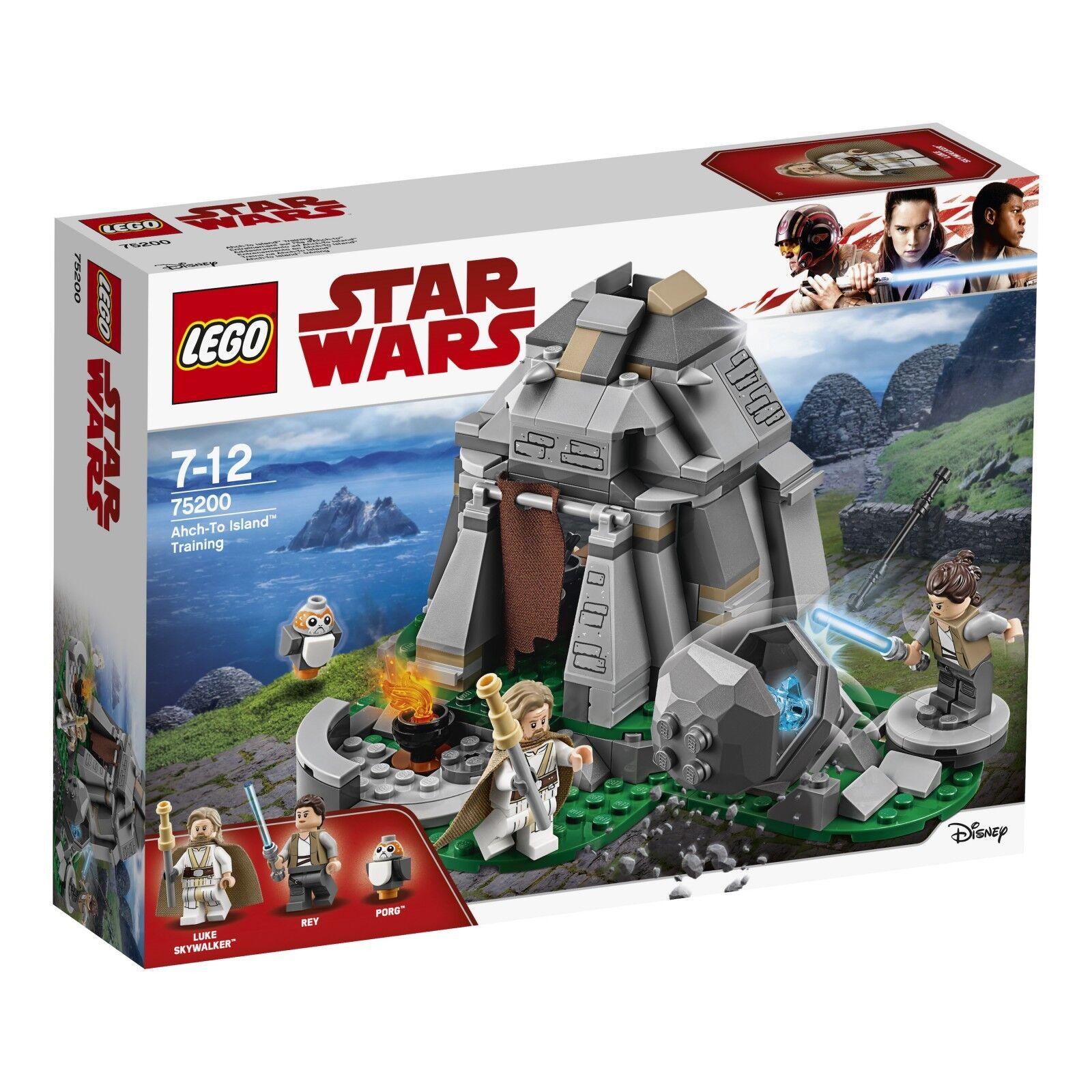 LEGO ® Star Wars ™ 75200 ahch-to Islanda ™ TRAINING NUOVO OVP NEW MISB NRFB