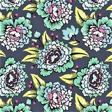 Tula Pink Elizabeth Astraea Sky 100% cotton quilting fabric