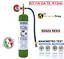 miniatura 1 - GAS R134A REFRIGERANTE BOMBOLA DA 1 LT 900 GR NETTO KIT FAI DA TE CON MANOMETRO