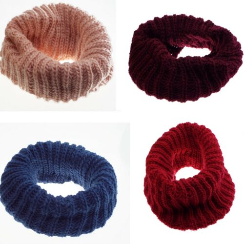 1 Neck Cover, Choker, Snood-woman-wool-large - 4 Colours To Choose