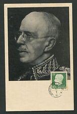 SCHWEDEN MK 1948 KÖNIG GUSTAF KING MAXIMUMKARTE CARTE MAXIMUM CARD MC CM d1208