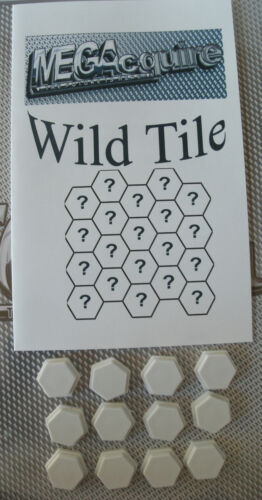 MEGAcquire Wild Tile Kit Acquire Kit only, no game Variant to add intrigue