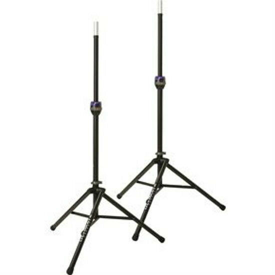 NEW Pair Ultimate Support TS90B Tripod Speaker Stands TS90 Pair!