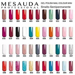 Mesauda Gel Polish Nail Color 10ml Smalto Semipermanente - 5 pezzi spediz gratis
