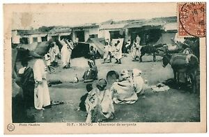 CPA-MAROC-20-F-Charmeur-de-serpents-Photo-Flandrin