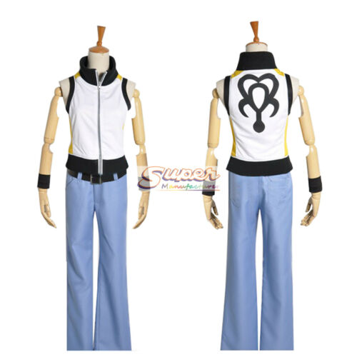 Kingdom Hearts 3D Dream Drop Distance Riku Uniform COS Clothing Cosplay Costume