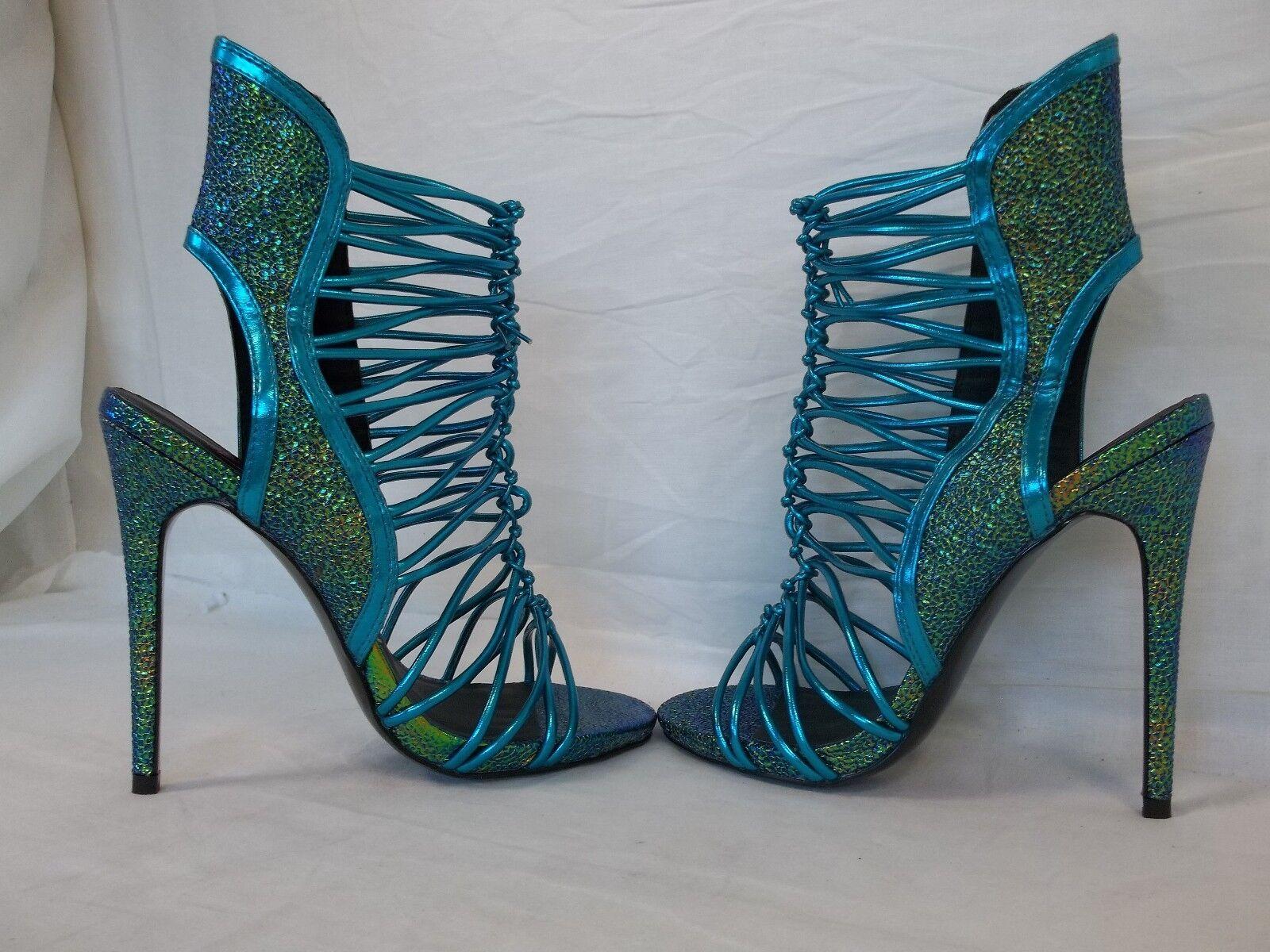 Keyshia Cole Steve Madden 8 8 8 M Movit Teal Open Toe Heels New Damenschuhe Schuhes NWOB c45e88