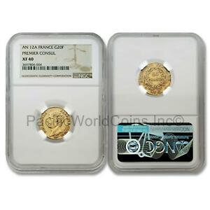 France-An-12A-Premier-Consul-20-Francs-Gold-NGC-XF40-SKU-6407
