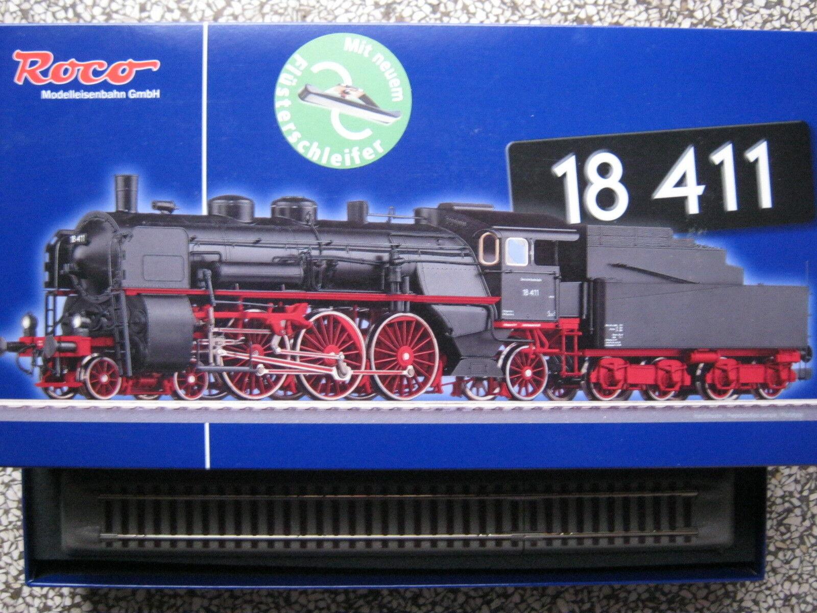 ROCO per AC ~ 69363 BR 18 411 treno rapido LOCOMOTIVA DB EP 3 NUOVO OVP tipo s3/6 69359