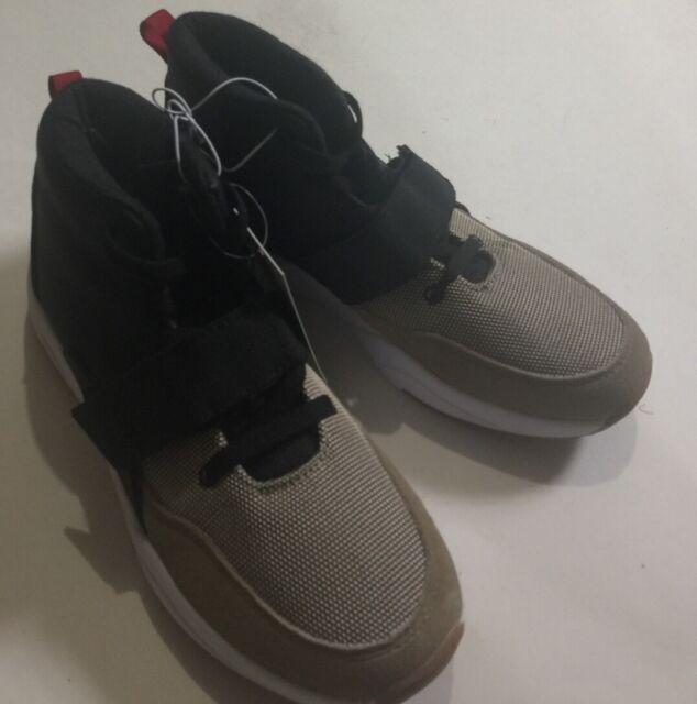 Jarden Black Tan High Top SNEAKERS Size