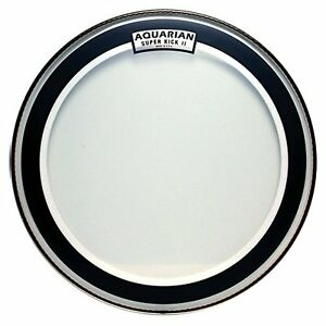 new aquarian drumheads skii18 super kick ii double ply 18 inch bass drum head ebay. Black Bedroom Furniture Sets. Home Design Ideas