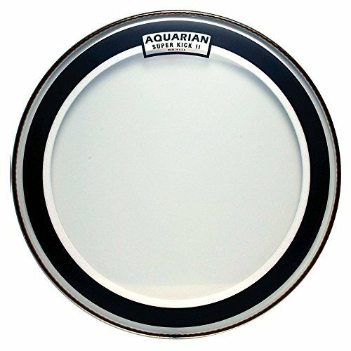 NEW Aquarian Drumheads SKII18 Super Kick II Double Ply 18 inch Bass Drum Head