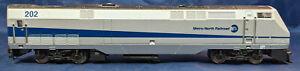 Athearn-MTA-Metro-del-norte-202-AMD103-POWERED-LOCOMOTORA-escala-Ho-Raro