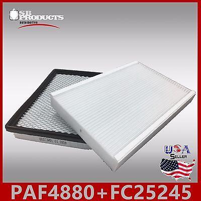 PAF4880 FC25245 CA7597 CF8392 ENGINE /& CABIN AIR FILTER ~ CENTURY REGAL INTRIGUE