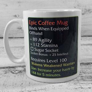 NEW-EPIC-COFFEE-MUG-WARGAMING-11-OZ-GIFT-MUG-CUP-PRESENT-WARGAMES-warcraft-wow
