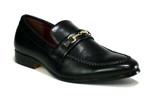 New-Boy-039-s-Faux-Leather-Buckle-Loafers-Smart-Slip-039-on-Shoe-Size-13-to-6-wedding