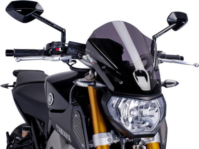 For BMW S1000R 2014-2017 Puig 7040F Generation Sport Naked Dark Smoke Windshield | eBay