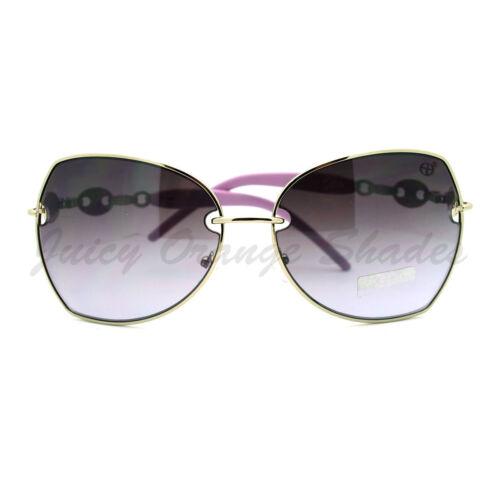 Unique Metal Frame Butterfly Shape Sunglasses for Women