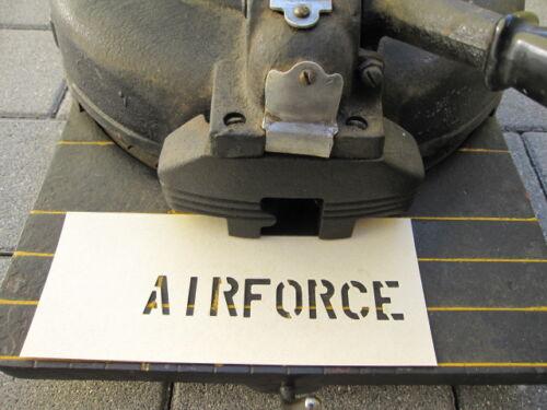 """Stencil laboriosa Stencil Airforce 1 3//4/"""" USMC Marines Vietnam Navy US Army"""
