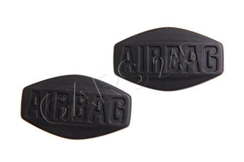 Genuine Airbag Sticker 2pcs BMW E46 2000-2004 51417004003