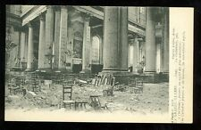 France, La Grande Guerre, WWI, Cathedral Ruins  (unmailed pre-20(militaryL#63
