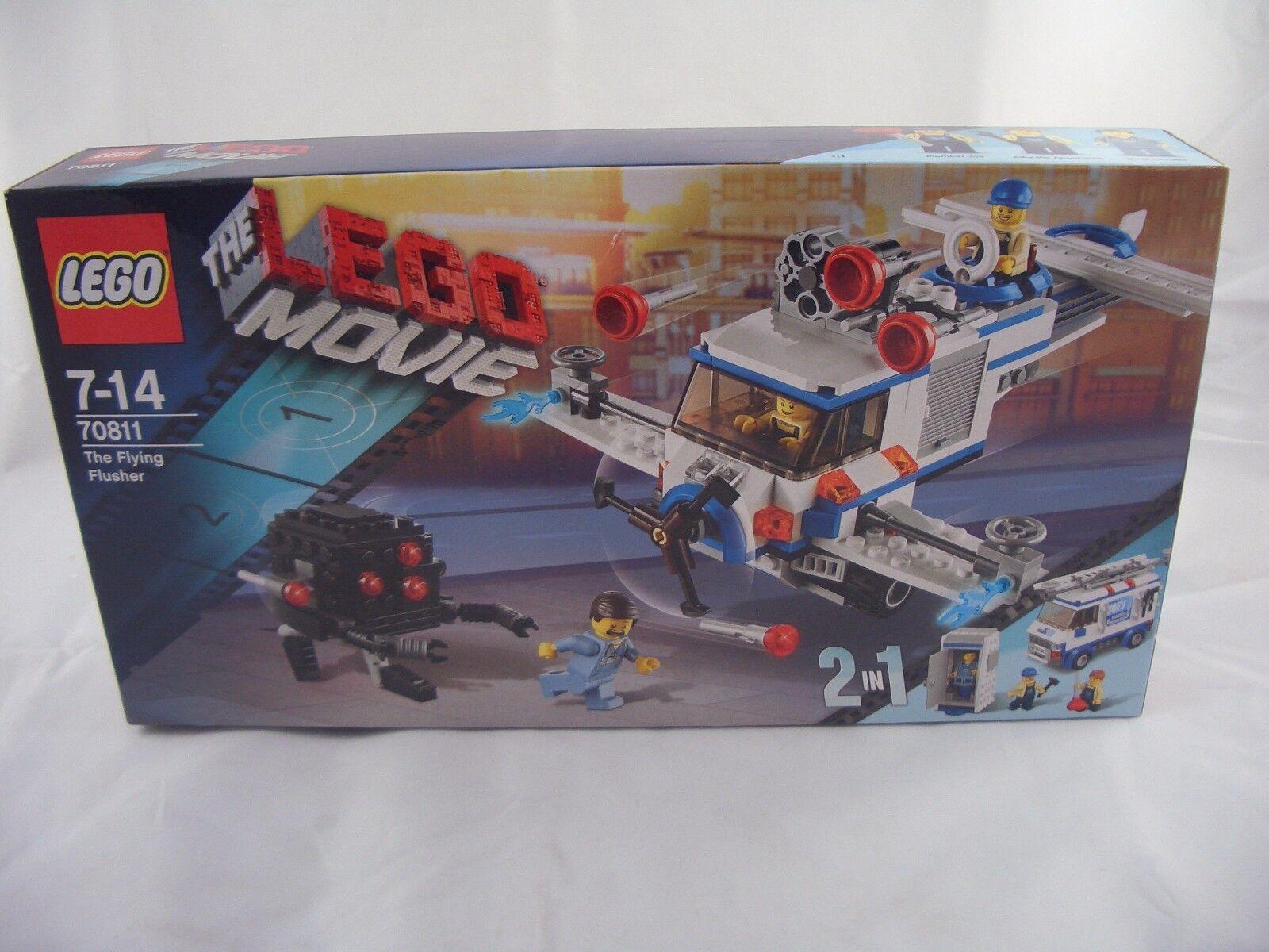 LEGO 70811 Lego the Movie The  Flying Flusher New Sealed