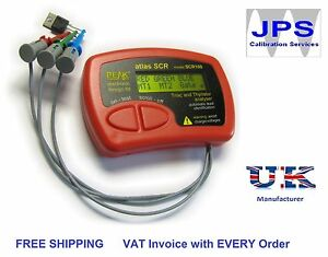 TRIAC-and-THYRISTOR-ANALYSER-Peak-Atlas-SCR100-JPST002-VAT-Invoice