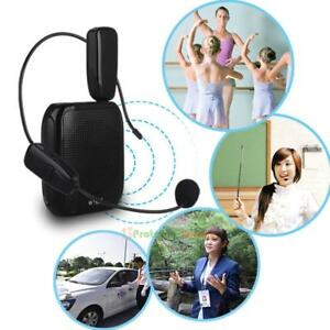 2-4G-Wireless-Microphone-Speech-Headset-Megaphone-Radio-Mic-Amplifier-Receiver