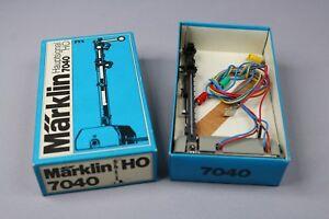 Z667-Marklin-train-Ho-7040-Semaphore-Home-signal-Huvudsignal-hoofdsein-Marklin