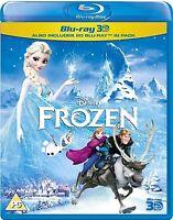 Frozen 3d [blu-ray + Blu-ray 3d] Disney Movie 3d + 2d Combo Pack Set