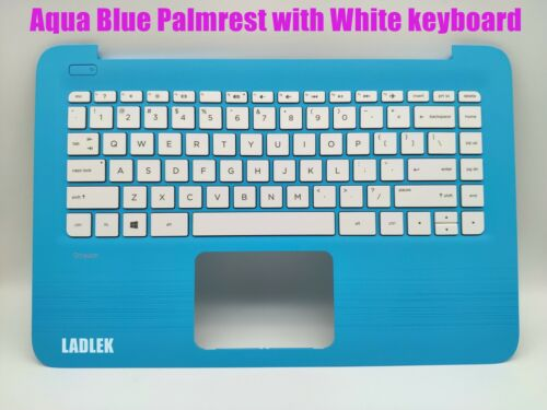 New US Blue Palmrest keyboard for HP Stream 14-ax//14-cb no touchpad