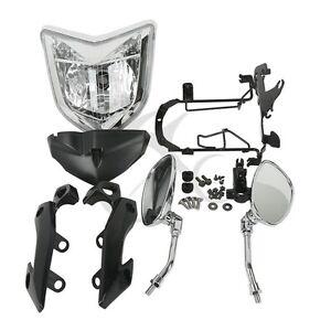 Headlight-Set-Head-Light-Assembly-For-Yamaha-FZ1N-2006-2009-07-08-Motorcycle-New