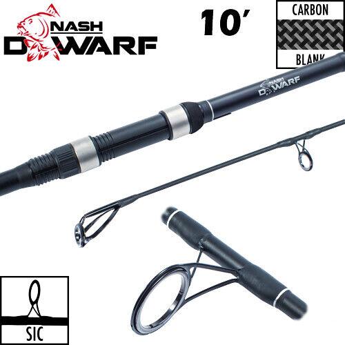T1454 Nash canna pesca carpfishing Dwarf  ES 10  3lbs hi carbon CASG