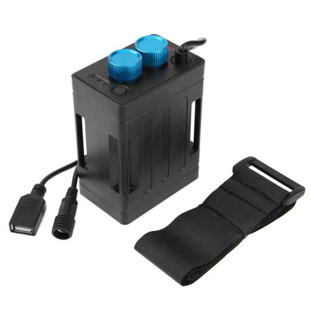 6x18650 Battery Pack Case Power Bank Box with USB Cable for Bicycle Light Phone