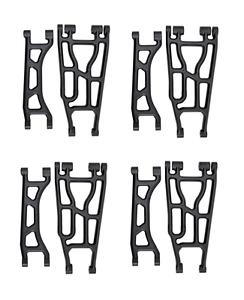 Traxxas X-Maxx completa Rpm Brazo Set Delantero Trasero Superior Inferior Brazos de suspensión