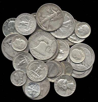 Silver Sale Lot Pre 1964 Bag Mixed 90 Us Old Coins Survival Money Coins 🔥 Ebay