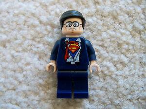 LEGO-Superheroes-Superman-Rare-Original-Clark-Kent-Minifig-Excellent