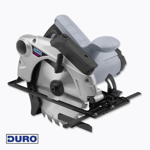 Duro Handkreissäge-1.500 W-Soft Start-Laserführung-Bodenplatte Aluminium*NEU/&OVP