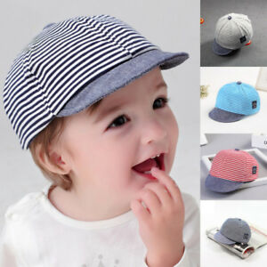 ebb56aee8 Baby Toddler Kids Peaked Baseball Summer Cap Hat Boys Girls ...