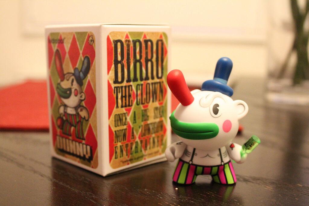 Kidrobot DUNNY Birro Birro Birro Clown CHAUSKOSIS Mexico DRUNK Caravan Urban Vinyl Figure a984bf