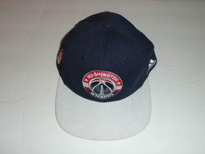 9c475976cb ADIDAS NBA WASHINGTON WIZARDS SNAPBACK CAP HAT BLUE WHITE ADULT ONE ...