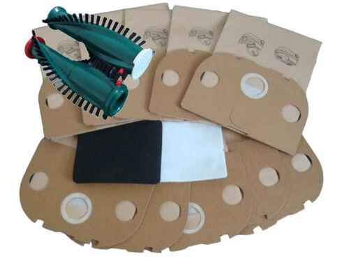 20 Sacchetto per aspirapolvere aspirapolvere sacchetti Spazzole adatto Vorwerk Tiger 250 251 252