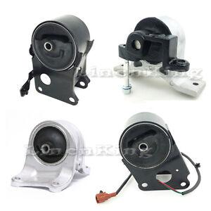Details about Engine Motor & Auto Trans Mount Set 4PCS for 05-06 Nissan  Altima 3 5L W/Sensor