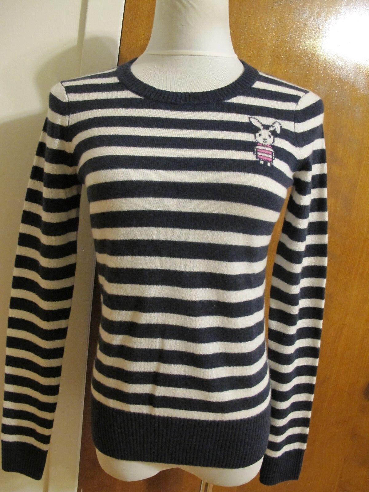 Aqua Women's Multicolor Cashmere Soft Sweater Size Xsmall NWT