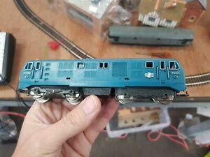 HO OO Gauge Jouef  BR Blue Locomotive D6100 Class 21 Tested working unboxed