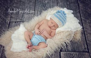 Latte Cream Alpaca Faux Fur Photo Prop Newborn Nest 18 x 20 Inches Photography